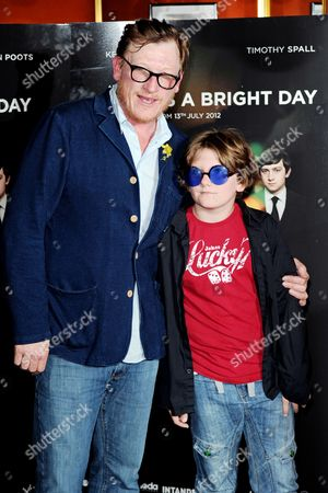 Geoff Bell and son