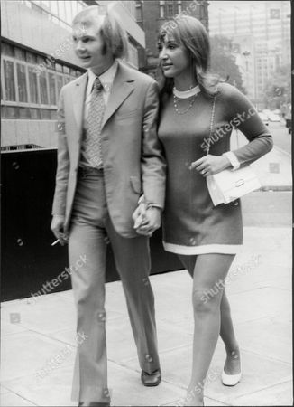 Colin Petersen And Wife Jeanette After Appearing At Law Courts He Was Claiming Damages From The Bee Gees After Being Sacked As The Drummer Of The Band