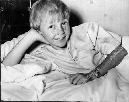 Colin Petersen The Former Drummer With The Bee Gees Pictured As A Child