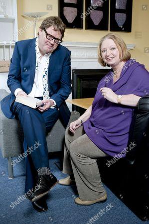 James Runcie and Hilary Mantel