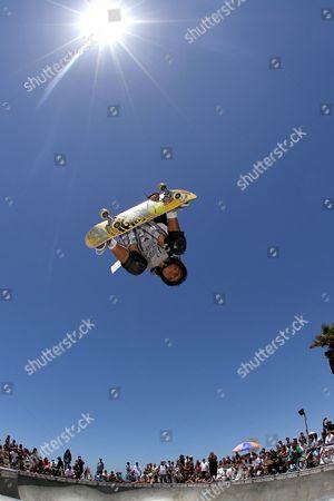 Editorial image of Venice Beach skate park, Los Angeles, America - Jun 2012