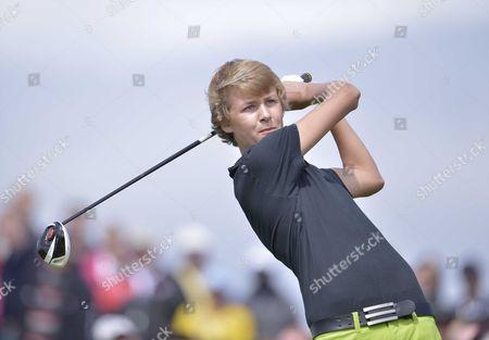Darren Clarke's son Tyrone Clarke
