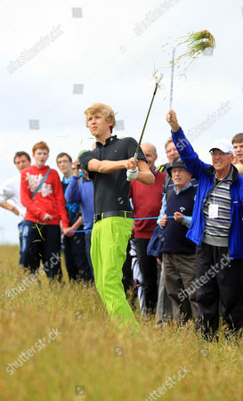Editorial image of Irish Open Pro-Am 2012 at Royal Portrush Golf Club, County Antrim, Northern Ireland, Britain - 27 Jun 2012