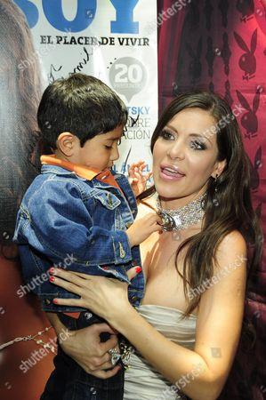 Editorial photo of Julia Orayen Playboy Magazine launch, Mexico City, Mexico - 27 Jun 2012