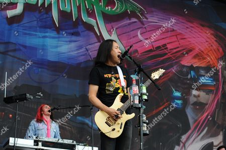 Editorial picture of Download 2009 - Dragonforce