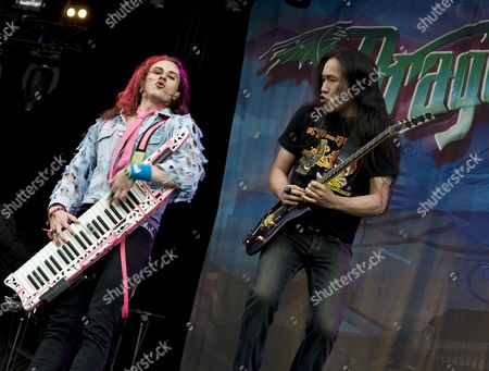 Editorial photo of Download 2009 - Dragonforce