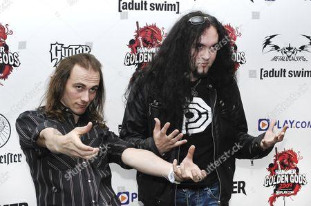 Editorial picture of Metal Hammer Golden Gods Awards 2009
