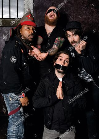 Editorial image of Skindred Portrait Shoot