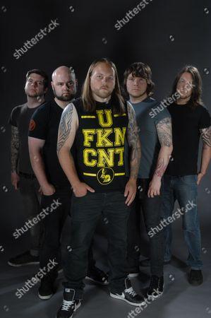 Editorial photo of Malefice Band Photo Shoot - July 2011