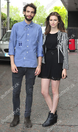 Stock Photo of Harry Gilliam and Tali Lennox