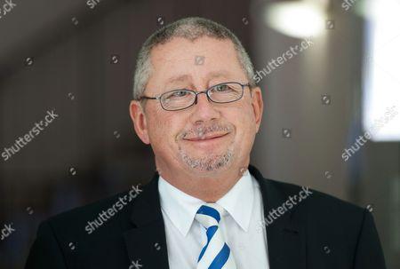 Stock Photo of Gillingham FC chairman Paul Scally