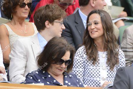 Felicity Kendal's son Jake Rudman and Pippa Middleton