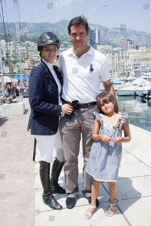Louis Alphonse de Bourbon and his wife Maria Margarita Vargas Santaella