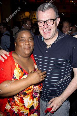 Llewella Gideon (Joyce) and Jonathan Harvey