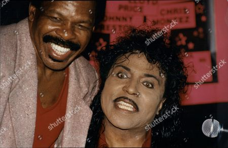 Singer Little Richard With Lloyd Price