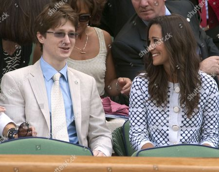 Jake Rudman and Pippa Middleton