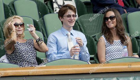 Felicity Kendal, Jake Rudman and Pippa Middleton