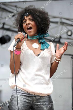 Editorial image of La Defense Jazz Festival, La Defense, France - 27 Jun 2012