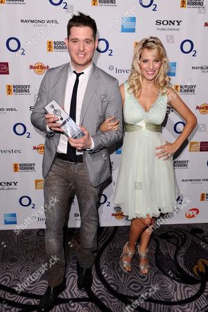 Michael Buble with wife Luisana Lopilato