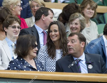 Jake Rudman and Pippa Middleton in the Royal Box