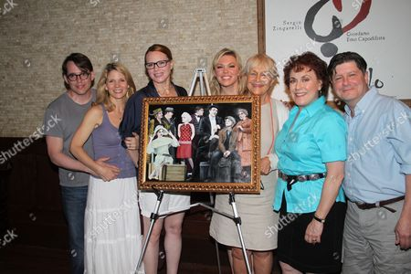 Matthew Broderick, Kelli O'Hara, Jennifer Laura Thompson, Robyn Hurder, Estelle Parsons, Judy Kaye and Michael McGrath
