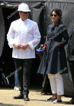 Heston Blumenthal and partner, Suzanne Pirret