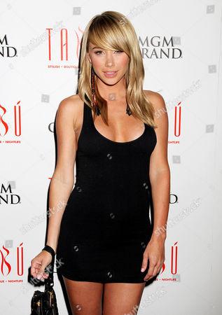 Editorial photo of Sara Underwood at TABU, Ultra Lounge at MGM Grand Hotel & Casino, Las Vegas, America - 29 Jun 2012