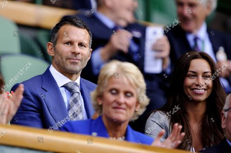 Ryan Giggs and wife, Stacey Giggs