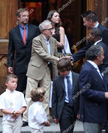Editorial image of Alec Baldwin and Hilaria Thomas Wedding, St Patrick's Old Cathedral, New York, America - 30 Jun 2012
