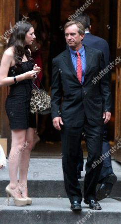 Editorial picture of Alec Baldwin and Hilaria Thomas Wedding, St Patrick's Old Cathedral, New York, America - 30 Jun 2012