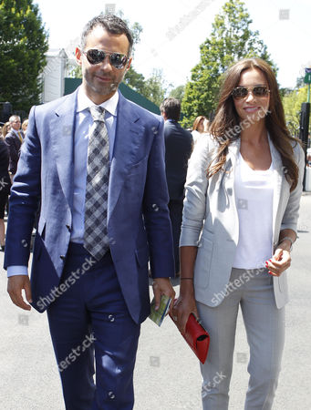 Ryan Giggs and his wife Stacey Giggs