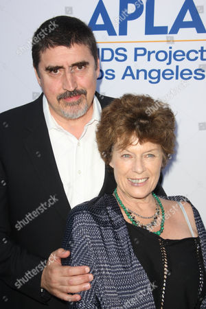 Stock Picture of Alfred Molina and Jill Gascoine