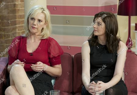 Stock Picture of Samantha Brick and Emily Dubberley