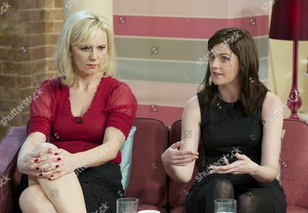 Stock Image of Samantha Brick and Emily Dubberley