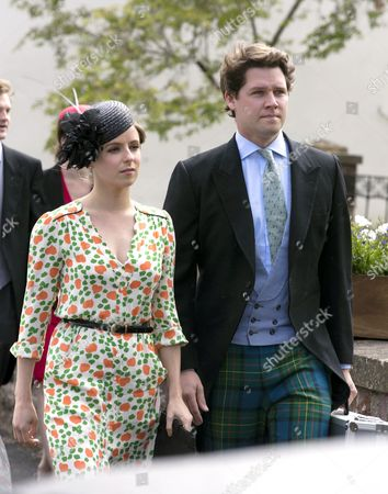 Stock Photo of David and Emilia Jardine-Paterson