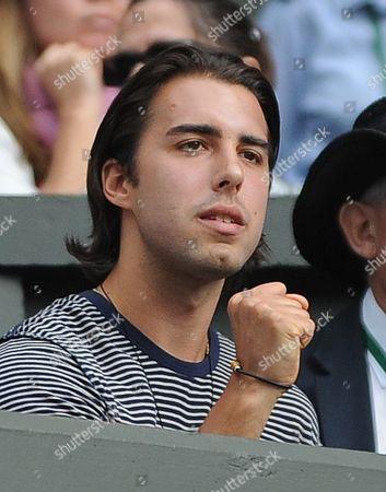 Sasha Vujacic Maria Sharapova's Boyfriend. Maria Sharapova V Sabine Lisicki Wimbledon The Lawn Tennis Championships 2011