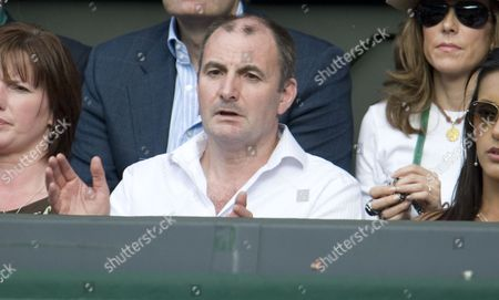 Andy Murray's Father William Murray. Andy Murray V Rafael Nadal Wimbledon Tennis 2011 Day Eleven 01/07/2011