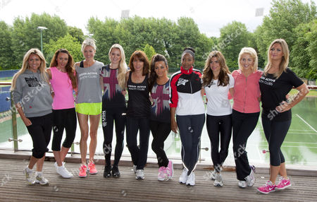 Michelle Heaton, Nell McAndrew, Amy Guy, Chelsee Healey, Angellica Bell, Zoe Hardman and Lydia Bright