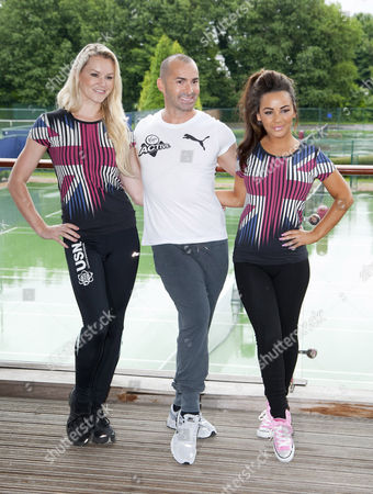 Amy Guy, Louie Spence and Chelsee Healey