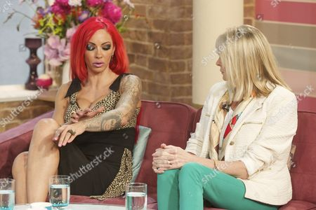 Editorial image of 'This Morning' TV Programme, London, Britain - 03 Jul 2012