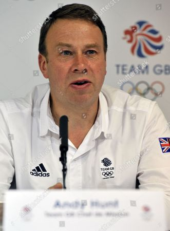 Team GB Chef de Mission Andy Hunt