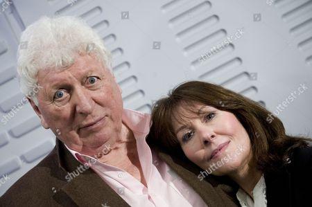 Stock Photo of Tom Baker Elisabeth Sladen