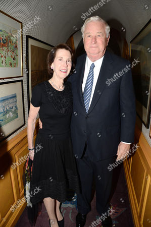 US Ambassador Louis B Susman and his wife Marjorie