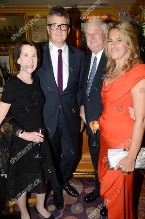 Guest, Jay Jopling, US Ambassador Louis B Susman and Tracey Emin