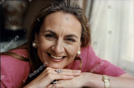 Frances Edmonds Writer And Wife Of Cricketer Phil Edmonds (not Shown) 1992.