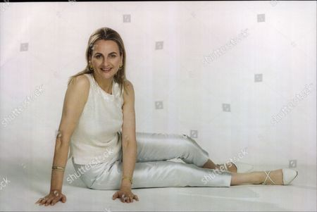 Frances Edmonds Writer And Wife Of Cricketer Phil Edmonds (not Shown) 1996.