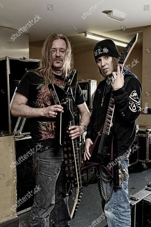 Editorial photo of Children of Bodom Portrait Shoot