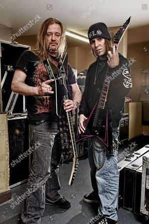Stock Image of Roope Latvala Alexi Laiho