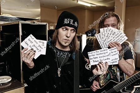 Editorial picture of Children of Bodom Portrait Shoot