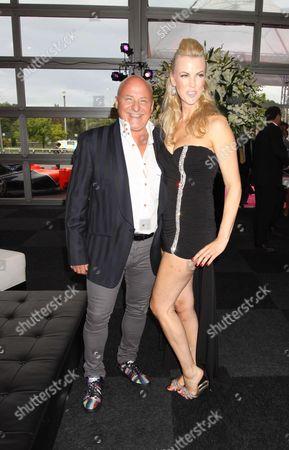 Aldo Zilli and Nikki Welch